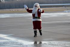 Santa on the Ground